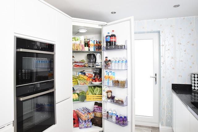 přecpaná lednice