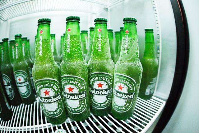 zmrzlé láhve