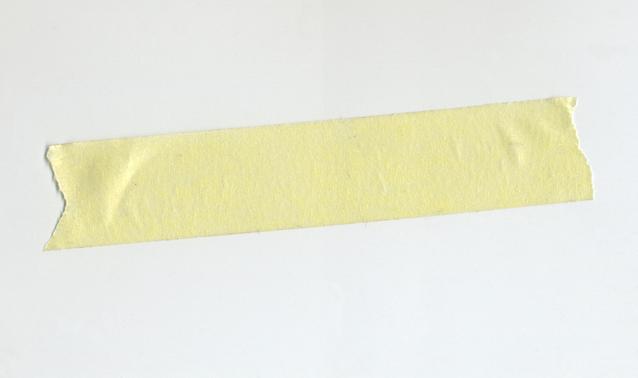 páska krepová žlutá
