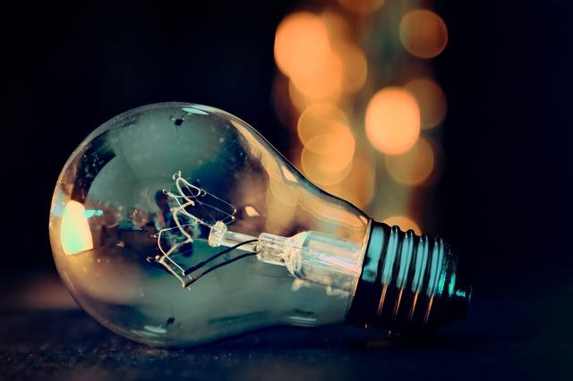 Detail žárovky